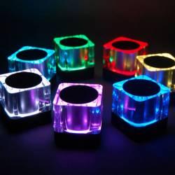Olixar Light Cube Bluetooth hangszóró,7 LED világítás
