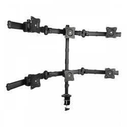 """Sbox LCD-352/6 13""""-27"""" Asztali monitor tartó konzol,dönthető,forgatható"""