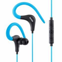 ACME HE17B Sport fülhallgató mikrofonnal és vezérlővel,kék
