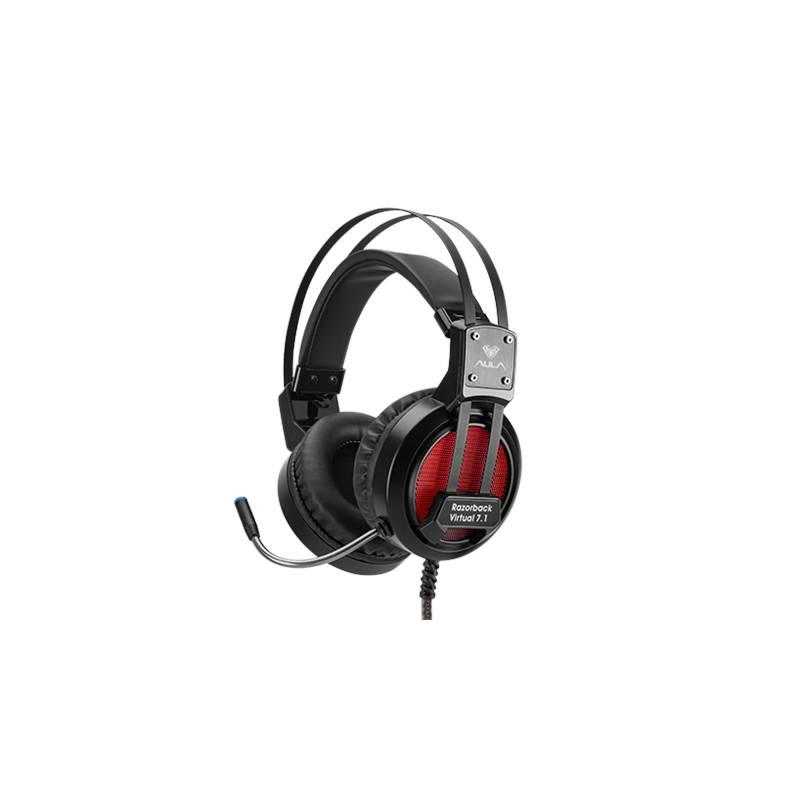 ... AULA Razorback 7.1 rezgő gaming mikrofonos fejhallgató 5717255104