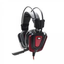 White Shark GH-1843 PUMA gaming fejhallgató,fekete/piros