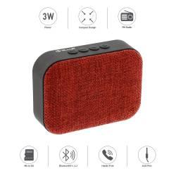 TELLUR CALLISTO R 3W Bluetooth Hangszóró TLL161041, piros