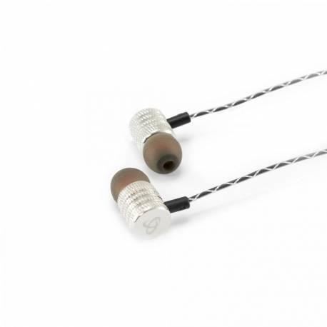 Sbox EP-902S Fülhallgató mikrofonnal, ezüst