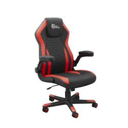 White Sahrk DERVISH K-8879B/R Gamer szék, fekete/piros