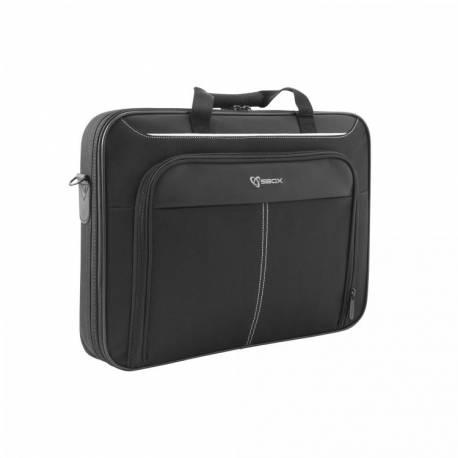 """SBOX HONG KONG NSE-2022 Notebook hátizsák, fekete, 15,6"""""""