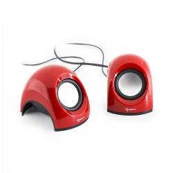 Sbox SP-092R 2.0 hangrszóró 6W, piros