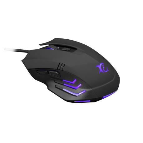 White Shark GM-3006B HANNIBAL-2/B gaming egér,fekete, 3200 dpi