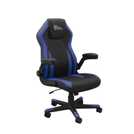 White Sahrk DERVISH K-8879B/BL Gamer szék, fekete/kék
