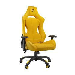 White Sahrk MONZA-Y Gamer szék, sárga