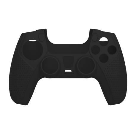 White Shark PS5-541B szilikon tok, fekete PS5 kontollrhez