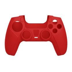 White Shark PS5-541R szilikon tok, piros PS5 kontollrhez